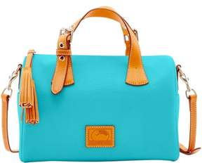 Dooney & Bourke Patterson Leather Kendra Satchel - CALYPSO - STYLE