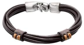 Uno de 50 Union Strength Leather Bracelet