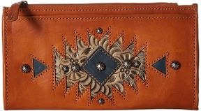 American West - Folded Wallet Wallet Handbags