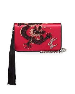 Les Petits Joueurs Ginny Dragoon Tassel Clutch Bag