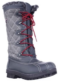 Sporto Womens Camille Round Toe Mid-calf Cold Weather Boots.