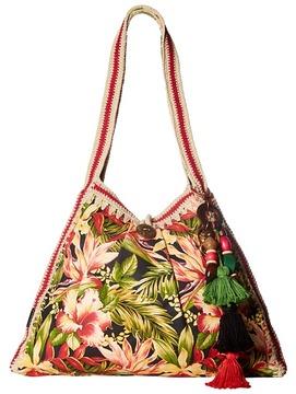 Patricia Nash - Gerona Canvas Resort Tote Tote Handbags
