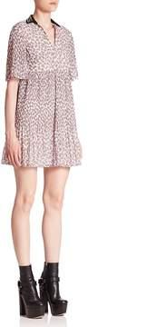 Giamba Women's Collared Mini Dress