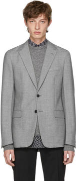 Prada Grey Wool Blazer