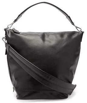 Paco Rabanne Medium Pr Faux Leather Shoulder Bag - Womens - Black Silver