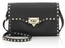 VALENTINO GARAVANI Rockstud Medium Leather Crossbody Bag