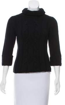 Barneys New York Barney's New York Cashmere Cable Knit Sweater