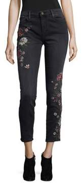 Driftwood Jackie Floral Embroidered Jeans