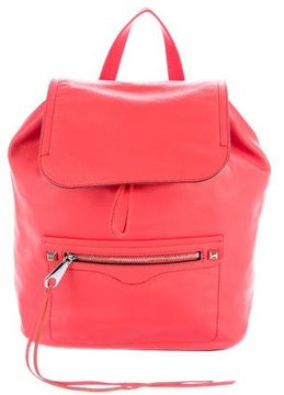 Rebecca Minkoff Regan Leather Backpack w/ Tags - RED - STYLE