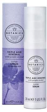Botanics® Triple Age Renewal Facial Serum - 1oz