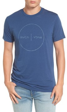 RVCA Men's Flipped Perimeter Burnout T-Shirt