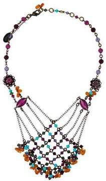 Erickson Beamon Multistrand Beaded Collar Necklace