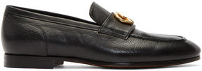 DSQUARED2 Black Leather Loafers