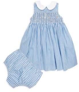 Ralph Lauren Baby's Smocked Bengal Stripe Dress