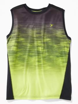 Old Navy Gradient-Print Performance Muscle Tank for Boys