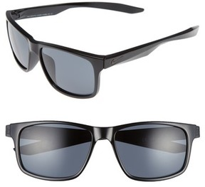 Nike Men's Essential Chaser 59Mm Sunglasses - Black