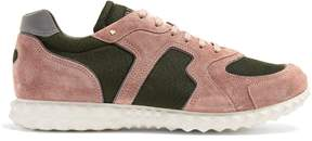 Valentino Soul Am low-top suede trainers