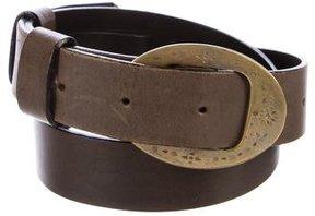 Jil Sander Leather Buckle Belt
