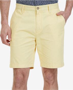 Nautica Men's Flat-Front Cotton 8 1/2 Deck Shorts