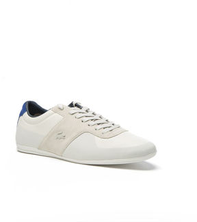 Lacoste Men's Turnier Low-rise Leather And Suede Sneakers