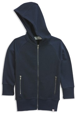 Sovereign Code Boys' Ribbed Zip-Up Hoodie - Big Kid