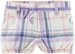Osh Kosh Oshkosh Bgosh Baby Girl Plaid Bubble Shorts