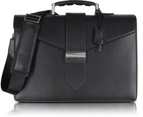 Giorgio Fedon 1919 New Class Leather Briefcase w/Shoulder Strap