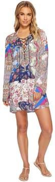 LaBlanca La Blanca Scarf Gypsy Tunic Top Cover-Up Women's Swimwear