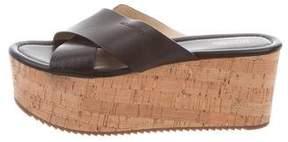 MICHAEL Michael Kors Leather Flatform Sandals