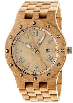 Earth Inyo Collection ETHEW3201 Unisex Wood Watch with Wood Bracelet-Style Band