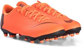 Nike Orange and Black JR Vapor Academy Boots