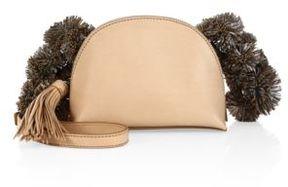 Loeffler Randall Vachetta Leather Crossbody Pouch