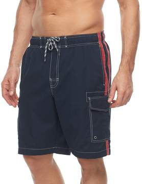 Croft & Barrow Men's Side-Striped Swim Trunks