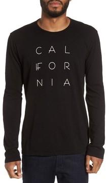 Velvet by Graham & Spencer Men's California Graphic Long-Sleeve T-Shirt