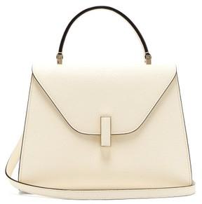 Valextra Iside Medium Leather Bag - Womens - White
