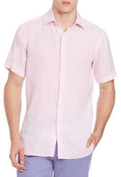 Saks Fifth Avenue COLLECTION Linen Button-Down Shirt