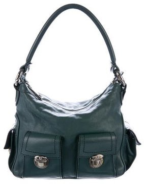 Marc Jacobs Leather Blake Hobo - GREEN - STYLE