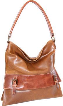 Nino Bossi Britt Leather Shoulder Bag (Women's)
