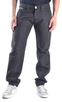 Gazzarrini Men's Brown Wool Pants.