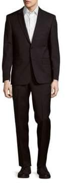 John Varvatos Classic-Fit Woolen Notch Lapel Suit