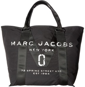 Marc Jacobs New Logo Tote Tote Handbags - BLACK - STYLE