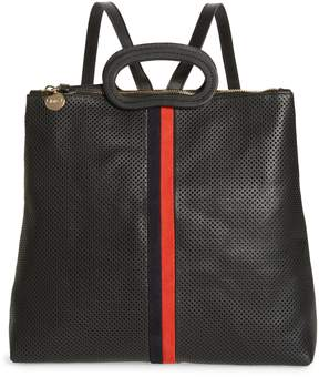 Clare Vivier Marcelle Perforated Leather Backpack