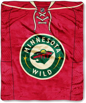 Northwest Company Minnesota Wild Raschel Stamp Throw Blanket