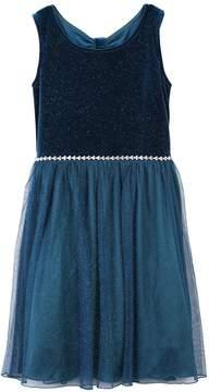 Speechless Girls 7-16 & Plus Size Glitter Bow-Back Dress