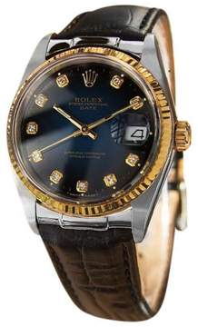 Rolex Datejust 15223 18K and Stainless Steel Swiss Made Automatic Mens Watch