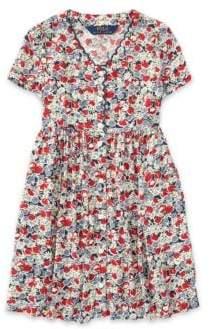 Ralph Lauren Little Girl's& Girl's Floral Dress