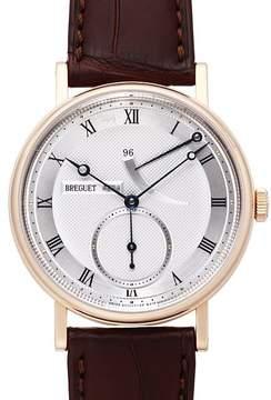 Breguet Clasique Silver Dial 18kt Rose Gold Men's Watch