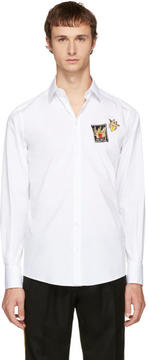 Dolce & Gabbana White Patches Shirt