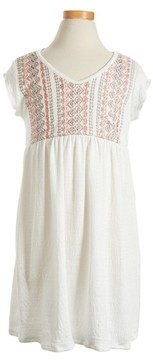O'Neill Toddler Girl's Sandie Embroidered Dress