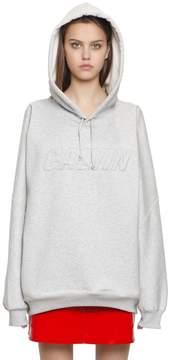 Calvin Klein Jeans Oversized Embroidered Cotton Sweatshirt